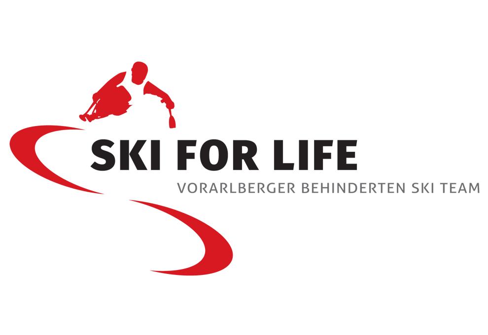 SKI for life Logo