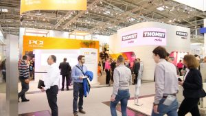 Thomsit und PCI Messestand