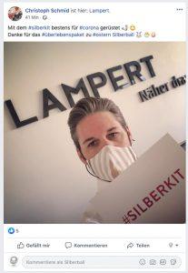 Lampert Silberball Kit Dankeschön