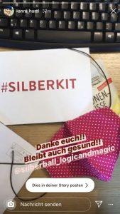Silvretta Montafon Silberball Kit Dankeschön