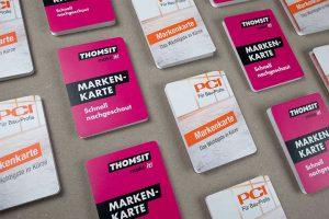 PCI Thomsit Markenkarten