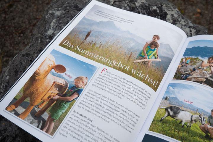 Gipfelbuch Innenseite