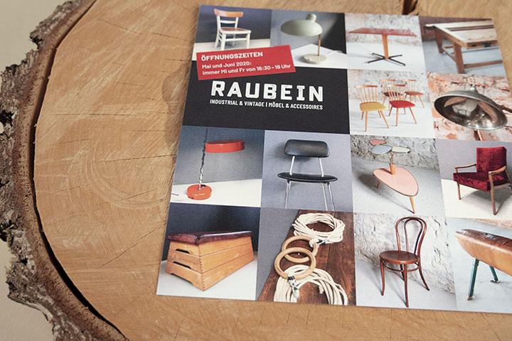 Case Raubein Werbemittel