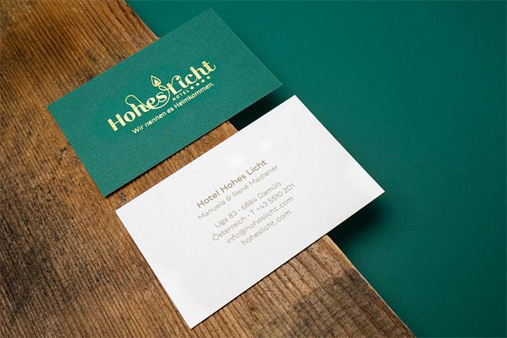 Case Hotel Hohes Licht Geschäftsausstattung