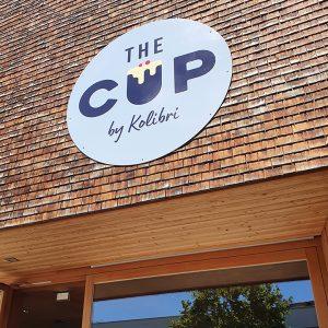 The Cup Eingangstür